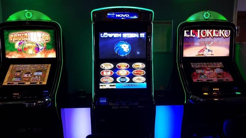 Spielautomaten Aufsteller